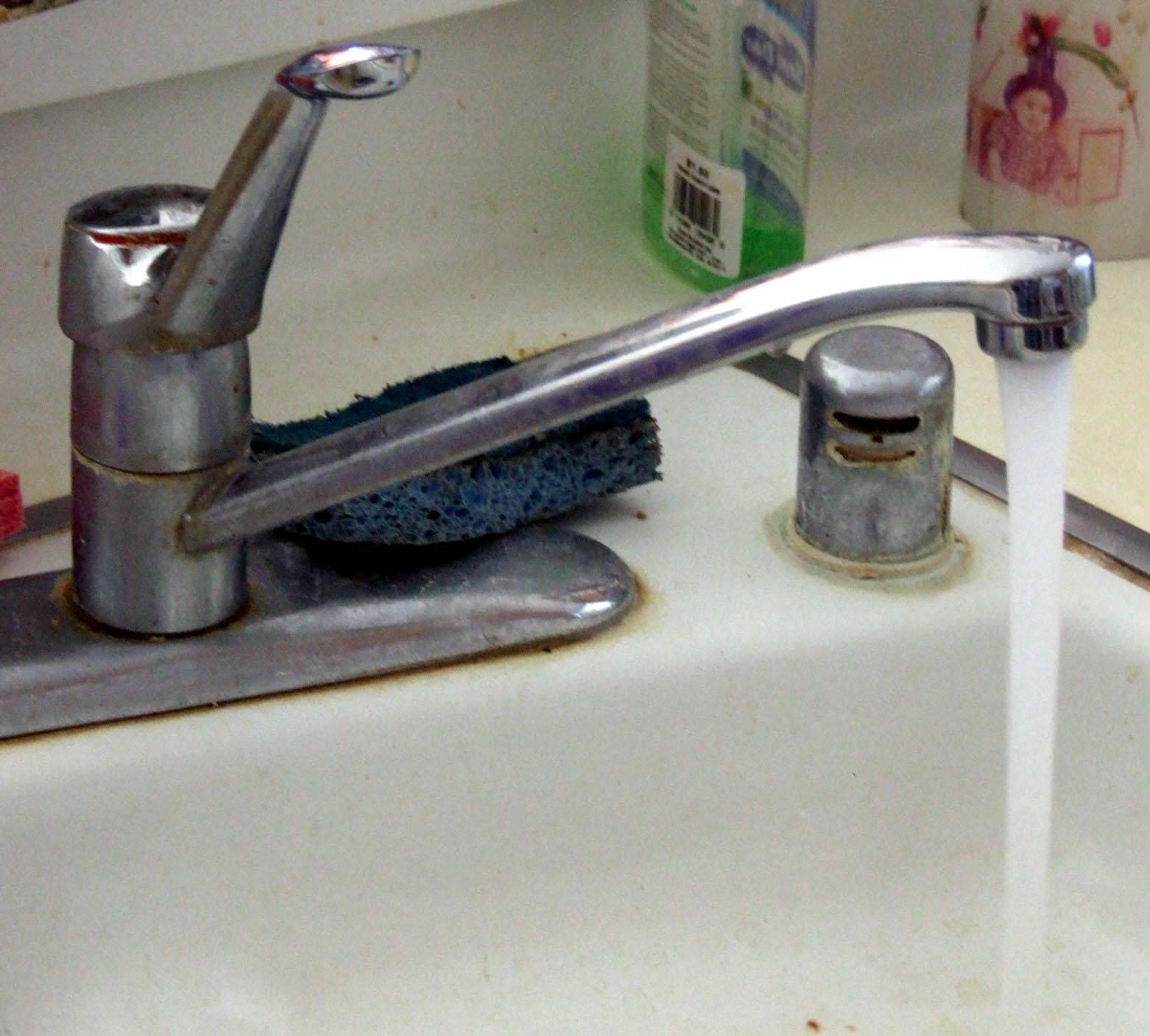 Running Faucet While Brushing Teeth